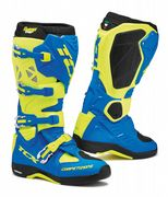 TCX Comp Evo Michelin Offroad Boots Blue/Yellow/Flu